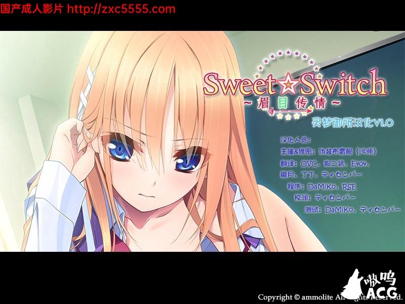 【ADV汉化】眉目传情 Sweet☆Switch硬盘汉化版+全CG+攻略【700M】